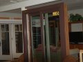 Brown EnergyCore Sliding Patio Door